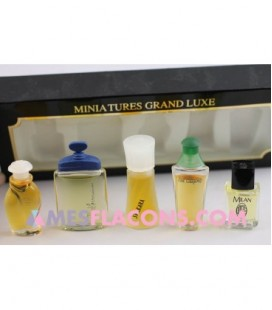 Coffret miniatures grand luxe