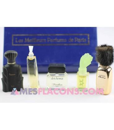 Les Meilleurs parfums de Paris (5 Miniatures)