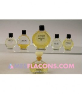 "Lot de 5 miniatures féminines ""AZZARO"" différentes variantes"
