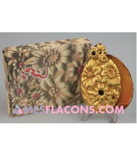 Concrète - qaium gold - passement rouge
