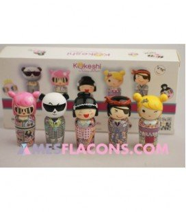The mini art Kokeshi collection