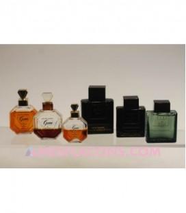 Lot de 6 miniatures mixtes (variantes différentes)