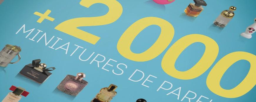 il nuovo libro 2000 miniprofum di Jean-Michel COURSET