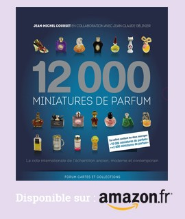 12000 miniatures de parfum disponible chez Amazon